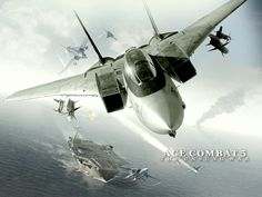 Ace Combat 5: The Unsung War.  One of the best games on PS2.