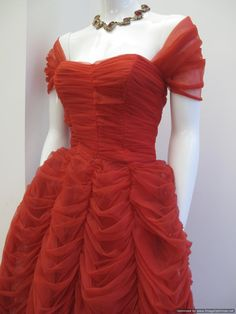 Google Image Result for http://www.secretsiren.co.uk/ekmps/shops/foster63/images/1950-s-scarlet-red-amazing-ruched-vintage-ballgown-1190-p.jpg