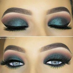 make up looks #makeup #smokeyeye