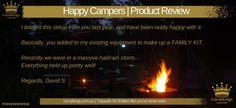Custom Kit | CampKings Customer Review http://campkings.com.au/happy-camper/