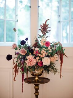 Botanical Autumn Wedding Flowers Designed by Celsia Floral ~ Vancouver Florist. Photography - Christie Graham