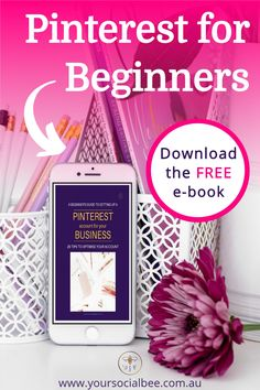 Learn how to use Pinterest for Business with this Pinterest Beginners Guide. Download the free ebook today and get your business setup on Pinterest today! #pinterestmarketing #pinterestbeginners Social Media Marketing Business, Email Marketing Services, Facebook Marketing, Online Business, Social Media Content, Social Media Tips, Marketing Calendar, Pinterest For Business, Email List