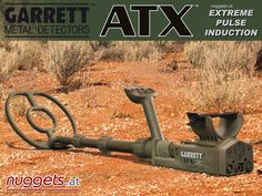 Metal Detector ATX from GARRETT for ALL ground conditions powered by http://www.nuggets.at/GARRETT-ATX-PI-Pulsinduktions-Gold-Detector