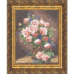 Rosas e violetas