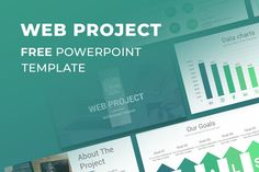 Web Project Proposal Free PowerPoint Template Free Powerpoint Presentations, Powerpoint Presentation Templates, Free Keynote Template, Photo Report, Project Proposal, Web Project, Data Charts, Projects, Google