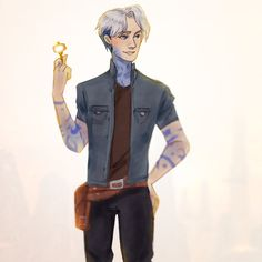 """feliett: """" Parzival from Ready Player One + speedpaint I liked him from the first second of the trailer. :D Now I'm reading the book and this is very interesting. And I searched the whole Internet for..."""