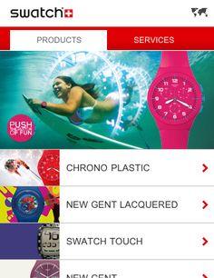 Swatch Mobile Web Design, Golf Pride, Design Process, Swatch, Engineering Design Process