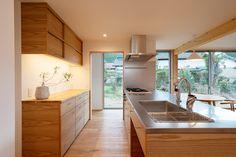 Interior And Exterior, Interior Design, Modern Chandelier, Kitchen Living, Future House, Home Kitchens, Kitchen Design, House Plans, New Homes
