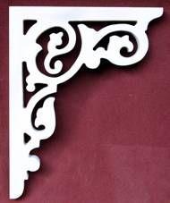 Artículo # B-27 Victorian Porche Soporte El Woodshop Victorian http://victorianwoodshop.com