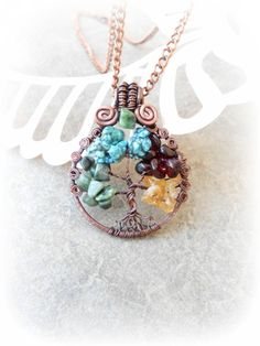 Hey, I found this really awesome Etsy listing at https://www.etsy.com/listing/182310354/tree-of-life-mothers-necklace-tree-wire