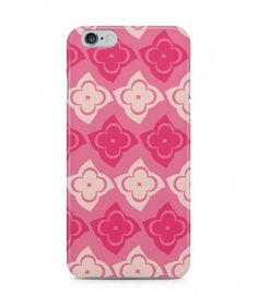 Red and Pink Flowers Abstract Seamless 3D Iphone Case for Iphone 3G/4/4g/4s/5/5s/6/6s/6s Plus - ABSTSEAM0128 - FavCases
