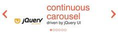 rcarousel – A continuous jQuery UI carousel