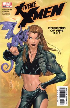 Extreme xmen by chris claremont. She gets a tattoo in. - Kitty Pryde of the xmen (and Lockheed) - Odin Symbol, Kitty Pryde, Warren Worthington Iii, Remy Lebeau, Crazy Costumes, College Years, Marvel Women, Tarot Decks, Xmen