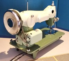 Janome New Home Paragon SKY fresh off the restoration bench at Stagecoach Road Vintage Sewing Machine