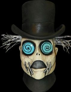 The Undertaker - This guy would frighten the dead - #scary #halloween #masks - Click Pic for More Ideas