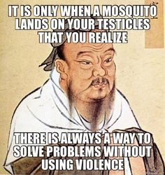 words,smart-Wise words ✨✨✨ wise words smart conscious mosquito humor ninja mind peace 🎭 So there. Confucius Say, Mau Humor, Funny Quotes, Funny Memes, Quotes Pics, Confucius Quotes Funny, Funny Videos, Witty Quotes, Funny Captions