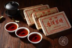 Black tea Puer from Yunnan Province Chinese Tea, Chinese Food, Tea Time, China, Tableware, Black, Dinnerware, Black People, Dishes