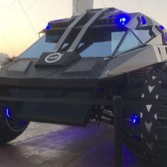 Mars rover prototype built for NASA looks like a Batmobile - Business Insider