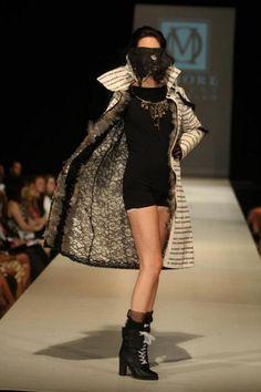 Jennifer Nina Evans will show her collection at Nashville Fashion Week on Saturday, April 6.