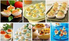 Faszerowane jajeczka - dużo inspiracji