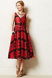 Bougainvillea Dress