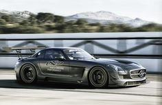 SLS AMG GT3 45th Anniversary. This car looks crazy fast.
