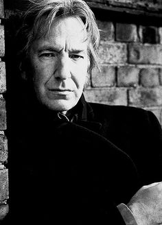 Alan Rickman. Yes. I will put him on this board 100 times and it won't be overkill. He's my favorite.