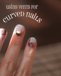 Jamberry tips for curved nails