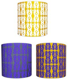 Gylsen Design, Tales of the Unexpected Lampshade Collection