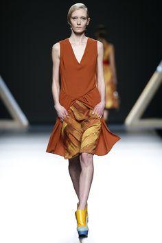 Moisés Nieto, exalumno de IED Madrid Moda Lab, en MBFW 13/14