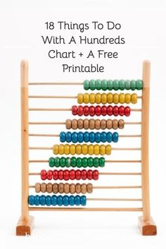 A hundreds chart can be a fabulous tool for practicing a variety of math skills. And your kids will love putting the math workbooks away for a day and playing a few games instead. Here are 18 things do with a hundreds chart. Homeschooling Resources, Homeschool Math, Math Resources, Fun Math Activities, Hands On Activities, Math Skills, Math Lessons, Hands On Geography, Subtraction Strategies