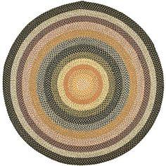Safavieh 8' X 8' Round Braided Rug