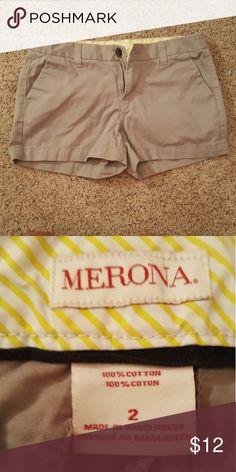 Merona Gray Shorts Worn only a couple of times Merona Shorts