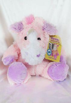 warmies unicorn cozy plush
