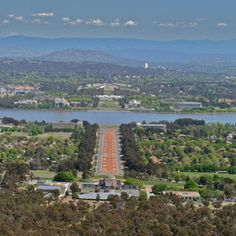 View of Canberra