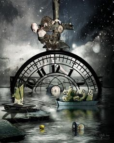 Time art - Moving Time