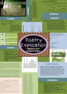"""Poetry explication of Langston Hughes' """"Mother to Son"""""""