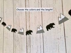 Onederful Adventure Birthday - Explorer Birthday Decorations - You will Move Mountains Banner - Bear Garland -Adventure Baby Shower- First Birthday Camping Theme, 1st Birthday Boy Themes, 1st Birthday Decorations, Birthday Backdrop, Happy Birthday Banners, 1st Birthday Parties, Birthday Ideas, Its A Boy Banner, Name Banners
