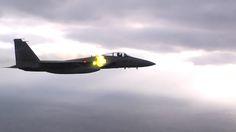 The Aviationist » Rare video shows Japanese F-15 Eagle firing M61 Vulcan 20mm gun