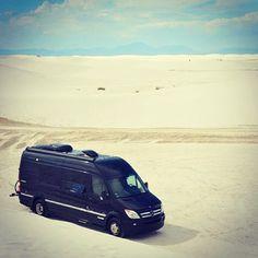 A rolling oasis. Mercedes-Benz  Sprinter