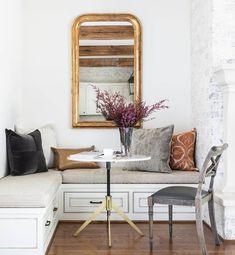 Best Kitchen Corner Bench Seating with Storage Ideas - Has Astita Kitchen Corner Bench Seating, Corner Banquette, Storage Bench Seating, Banquette Seating, Kitchen Nook, Corner Bench With Storage, Kitchen Banquette, Kitchen Dining, Cozy Nook