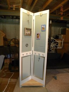 Repurpose Louvered Bifold Doors I Am So Going To Do This