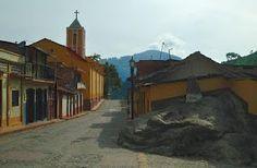 Entrada al Pueblo de San Simón Estado Táchira.