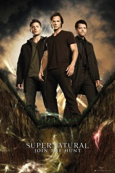 Supernatural Group - Official Poster. Official Merchandise. Size: 61cm x 91.5cm. FREE SHIPPING