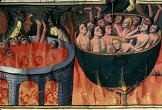 Hell. France 1480 Paris.