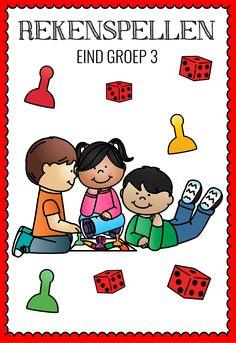 Ik heb elf spellen ontworpen die geschikt zijn om in de laatste drie maanden van groep 3 te gebruiken.