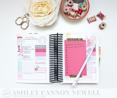 Moments Inked Memory Planner by Ashley Cannon Newell #planner #momentsinked #papertreyink #papersuite