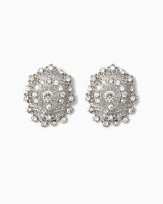 charming charlie | Floral Wreath Earrings | UPC: 410006635968 #charmingcharlie
