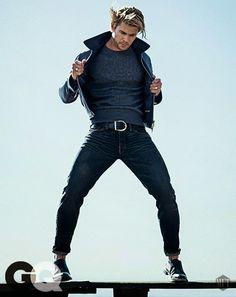 Chris Hemsworth para GQ USA Enero 2015
