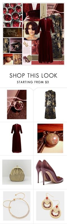 """""""Smell the Roses: Vintage Florals"""" by mcheffer ❤ liked on Polyvore featuring ...Lost, Dolce&Gabbana, LUISA BECCARIA, vintage and vintageflorals"""